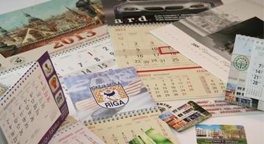 Zīmogu fabrika - kalendāri