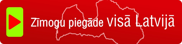 Zīmogu piegāde visā Latvijā