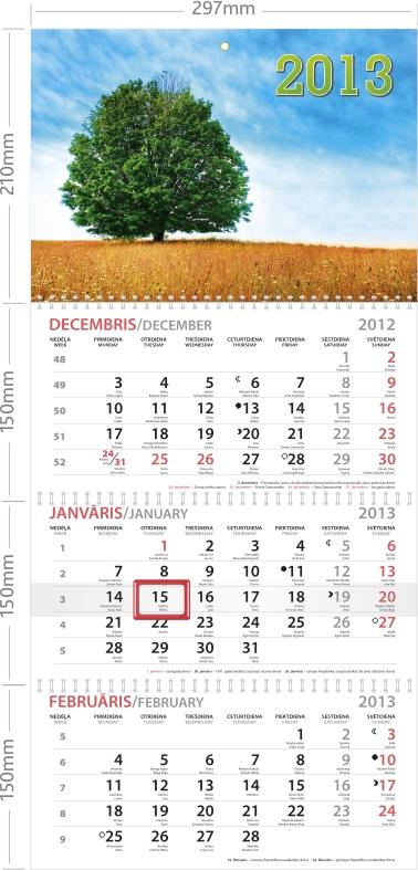 Sienas kalendārs L