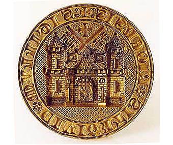 Rīgas rātes zīmogs 1347. gads