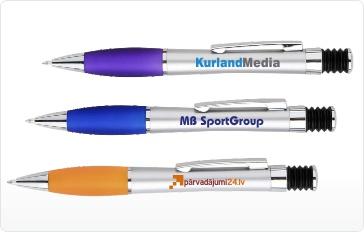 Pildspalvu apdruka, priekšmetu apdruka, prezentreklāma, gravēšana