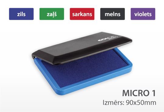 Zīmogu spilventiņš Micro 1