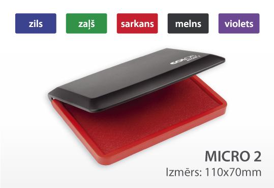 Zīmogu spilventiņš Micro 2