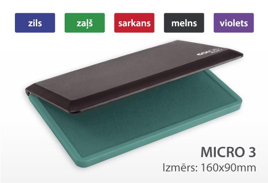 Zīmogu spilventiņš Micro 3