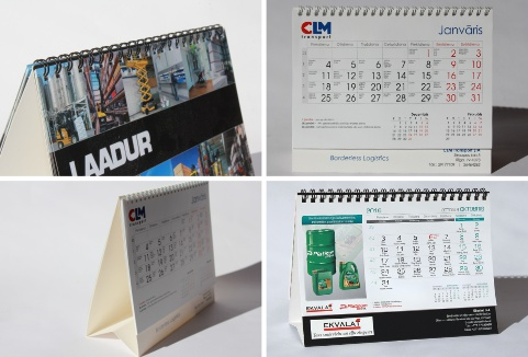 Galda kalendāri 2017