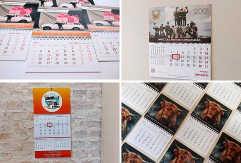 Sienas kalendāri, sienas kalendārs 2017