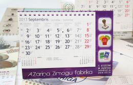 Galda kalendāri, kalendāru izgatavošana